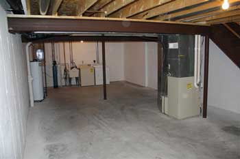 townhouse apartment for rent in Madison WI - basement